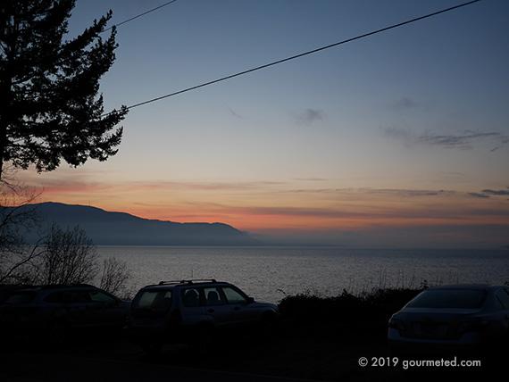 Sunset at Lummi Island