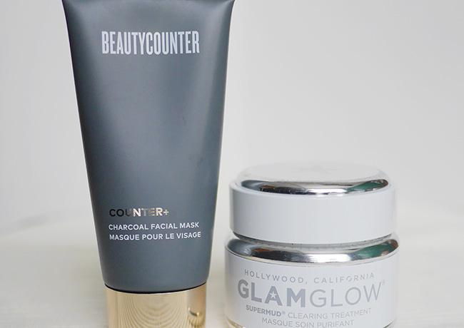 Charcoal Mask: Glamglow and Beautycounter Counter+